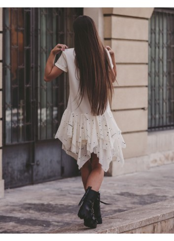 Stained Ballerina Casual Dress