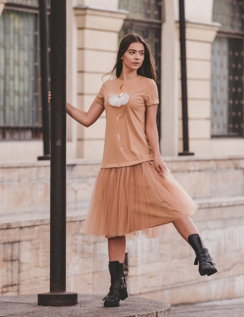 Dreaming Ballerina Casual Dress