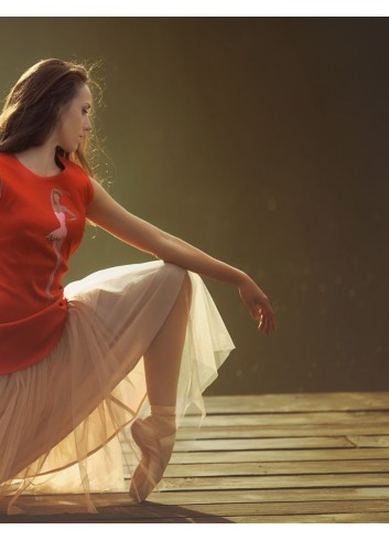 Confident Ballerina Casual Dress