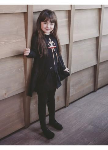 Black Princess Girl Dress
