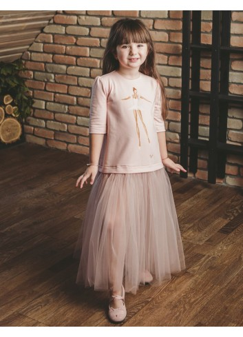 Sophisticated Ballerina Girl Dress