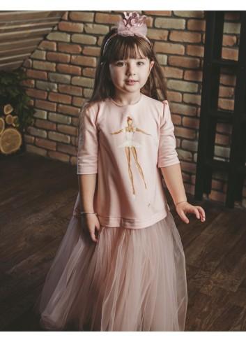 Sophisticated Ballerina Girl Dress