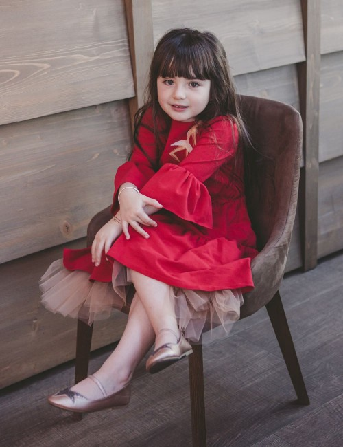 Rochie fete Red Princess
