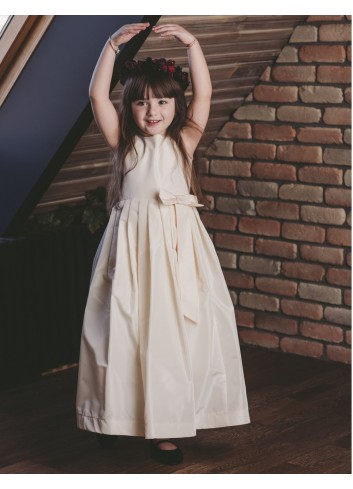 Silk Princess Girl Dress