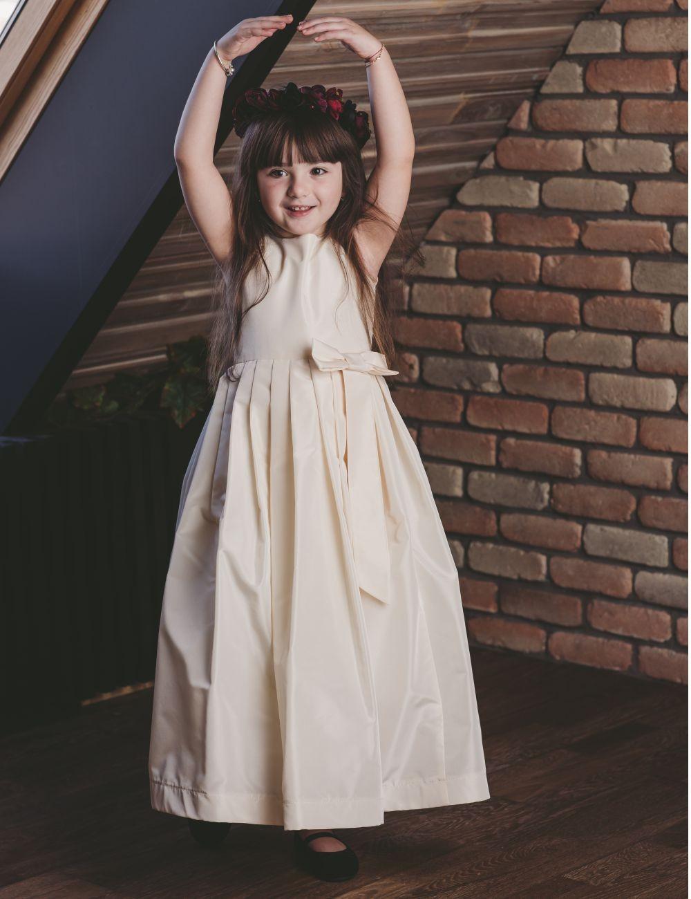 Silk Princess Girl Dress