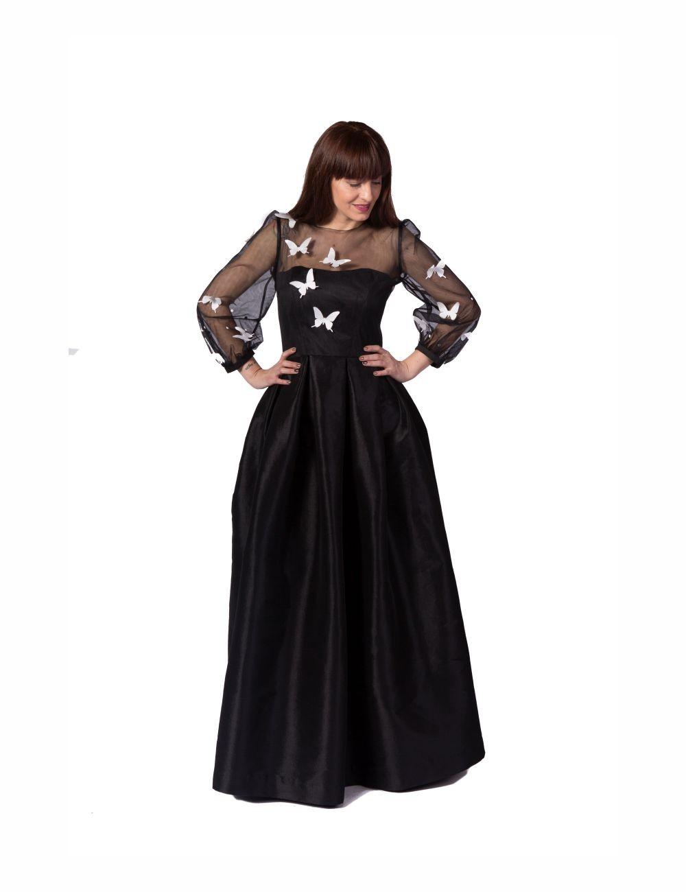 Butterfly Queen Evening Dress