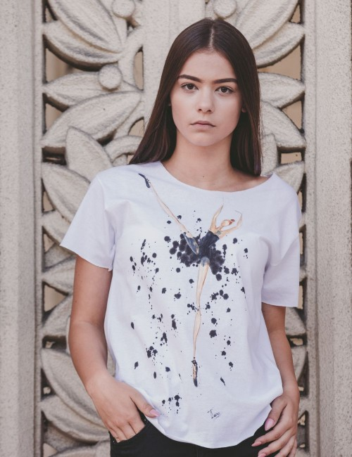 Tricou Spotted Ballerina