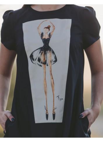 Energetic Ballerina Casual Dress