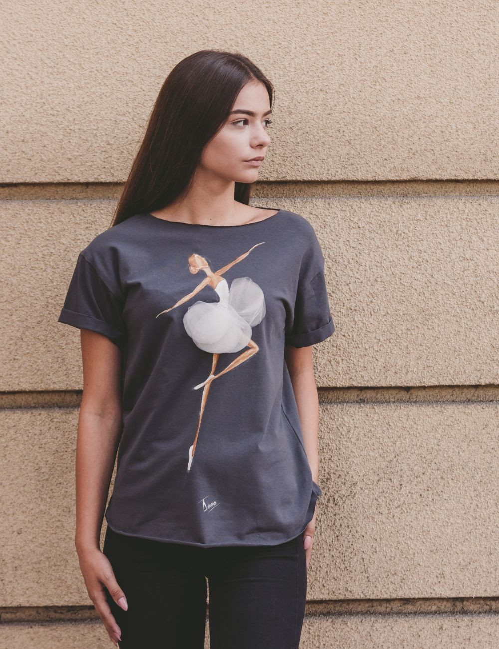 Tricou Flying Ballerina