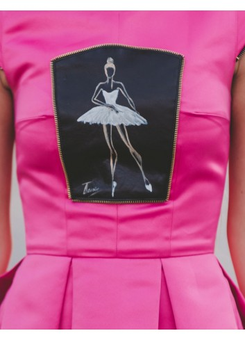 Rochie de ocazie Hot pink