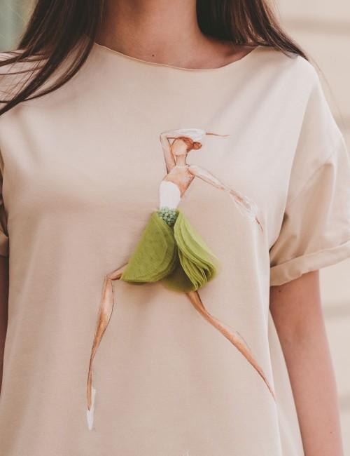 Tricou Delicate Ballerina