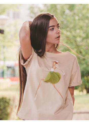 Delicate Ballerina T-shirt