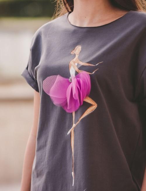 Tricou Pink Ballerina