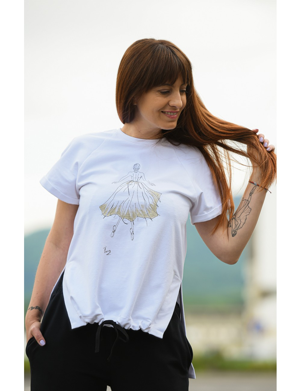 Alba Embroidered T-shirt