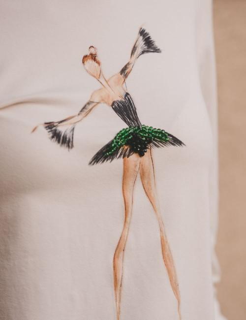 Elegant Ballerina T-shirt