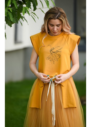 Luciana embroidered T-shirt