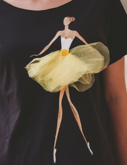 Tricou Dreaming Ballerina