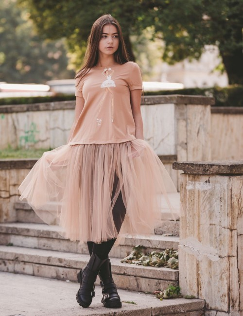 Rochie Casual Sophisticated Ballerina