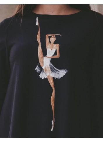 Rochie Casual Flexible Ballerina